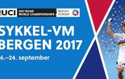 Få alt fakta om landevejs-VM i Bergen her