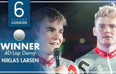 Derny-sejr til Niklas Larsen