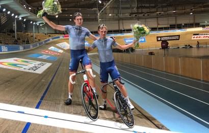 Ungt dansk par kører 6-dagesløbet med Bilka Princip som sponsor
