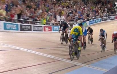 Pointløbssejr til Mark Stewart ved Commonwealth Games