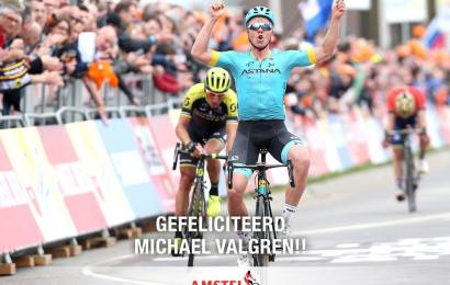 Michael Valgren nomineret til Velo d'Or