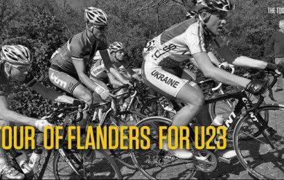 Dansk femteplads i U23 Flandern Rundt. Danmark nr. fire i Nations Cup