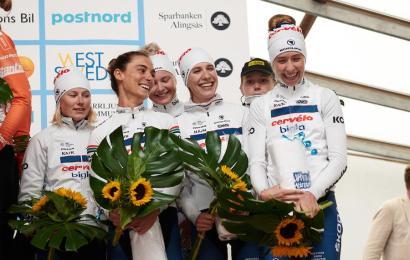Danske kvinder på podiet i Sverige