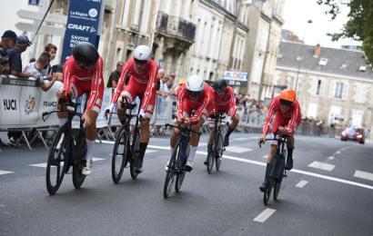 Dansk sejr i holdtidskørsel i Tour de l'Avenir