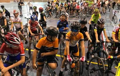 Børne-cykelryttere fik stor cykeloplevelse i Ballerup Super Arena