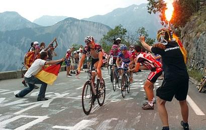 Lidt Tour de France-historie