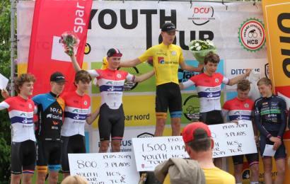 Sejr til William Blume i Youth Tour. Adam Holm Jørgensen fører nu Uno-X Cup'en