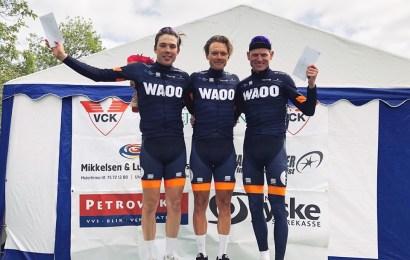 Team Waoo ryddede podiet i Vejle