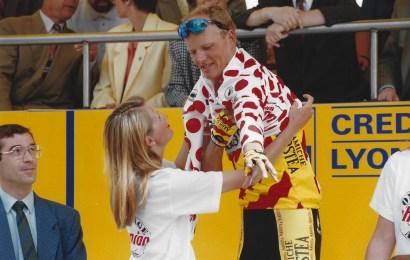 Riis var første dansker i polkadot-trøjen