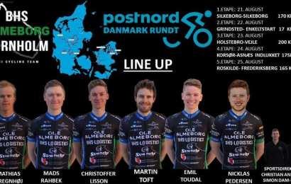 BHS Almeborg Bornholm har udtaget holdet til PostNord Danmark Rundt