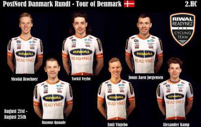 Riwal Readnynez har udtaget PostNord Danmark Rundt holdet