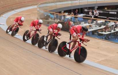 Danmark i femtebedst tid i holdforfølgelse ved junior-VM