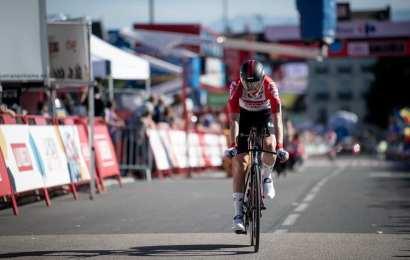 Nordmand imponerer med ottendeplads i Vuelta'en