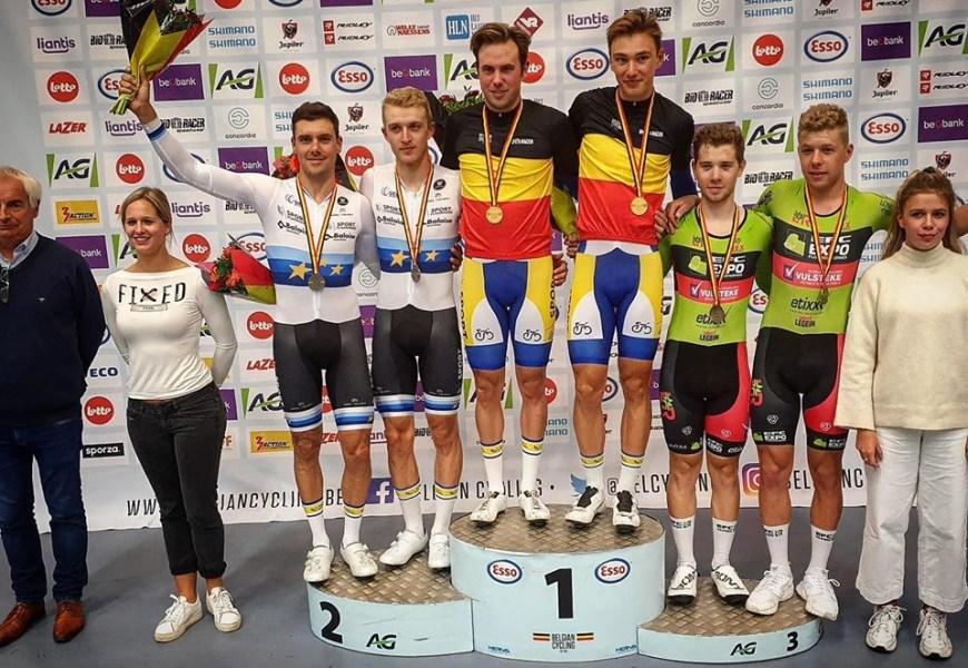 De Pauw/De Vylder belgiske mestre i parløb