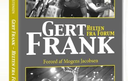 Gert Frank – Helten fra Forum. Bogen udkommer den 9. december