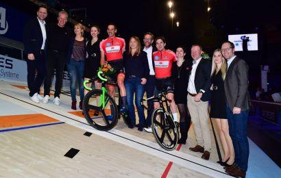 Marc Hester i front halvvejs i 6-dagesløbet i Bremen