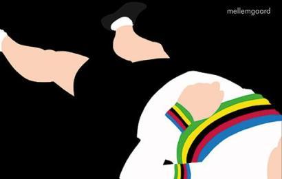 Ny dansk cykelbog om VM-trøjens forbandelse udkommer den 16. marts