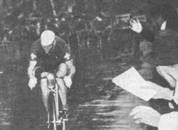 Utrolig cykelhistorie: En tilskuer afgjorde måske VM