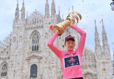 Britisk Giro-sejr. Historisk dansk placering