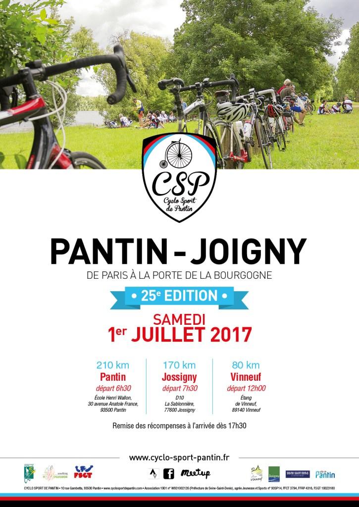 25eme édition Pantin Joigny par le Cyclo Sport Pantin