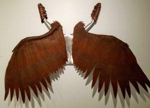 Icarus Wings - An Aluminum & Felt Sculpture by Adam Nahas from Cyclops Studios