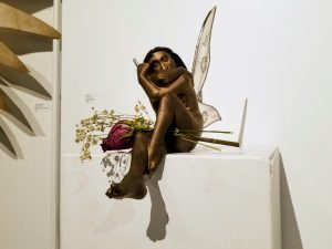 Titania Bronze & Glass Sculpture by Adam Nahas from Cyclops Studios
