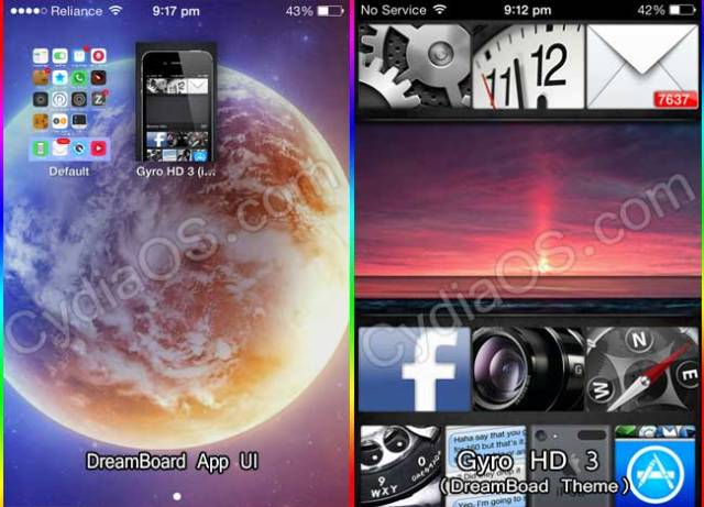 DreamBoard Theme iOS 7