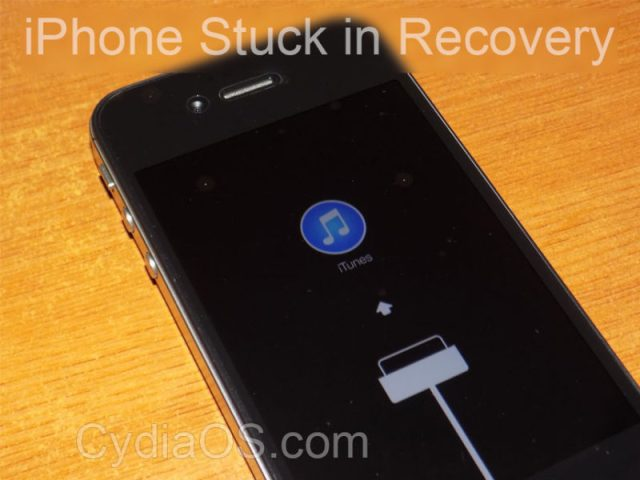 iPhone 4S Stuck in Recovery Mode