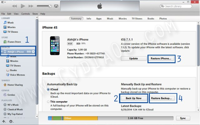 Fic cydia dpkr was interrupted error with iTunes