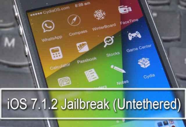 Jailbreak iOS 7.1.2
