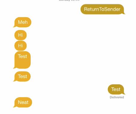 messagecolors iOS 8 tweak