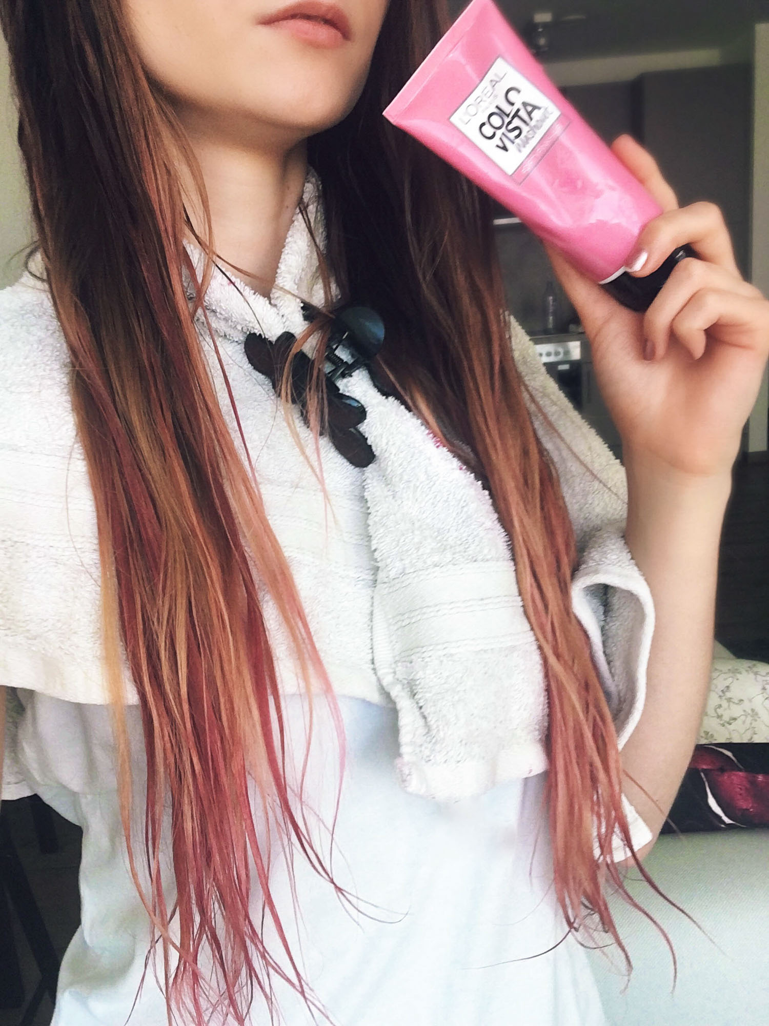 LOral Colorista Washout DirtyPink Hair Dye Review