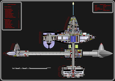 Star Trek Blueprints: Deep Space Station K-Class