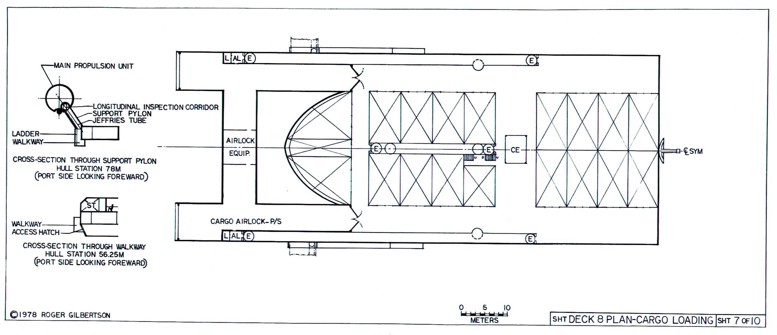 Star Trek Blueprints General Plans Mk Xii Robot Cargo