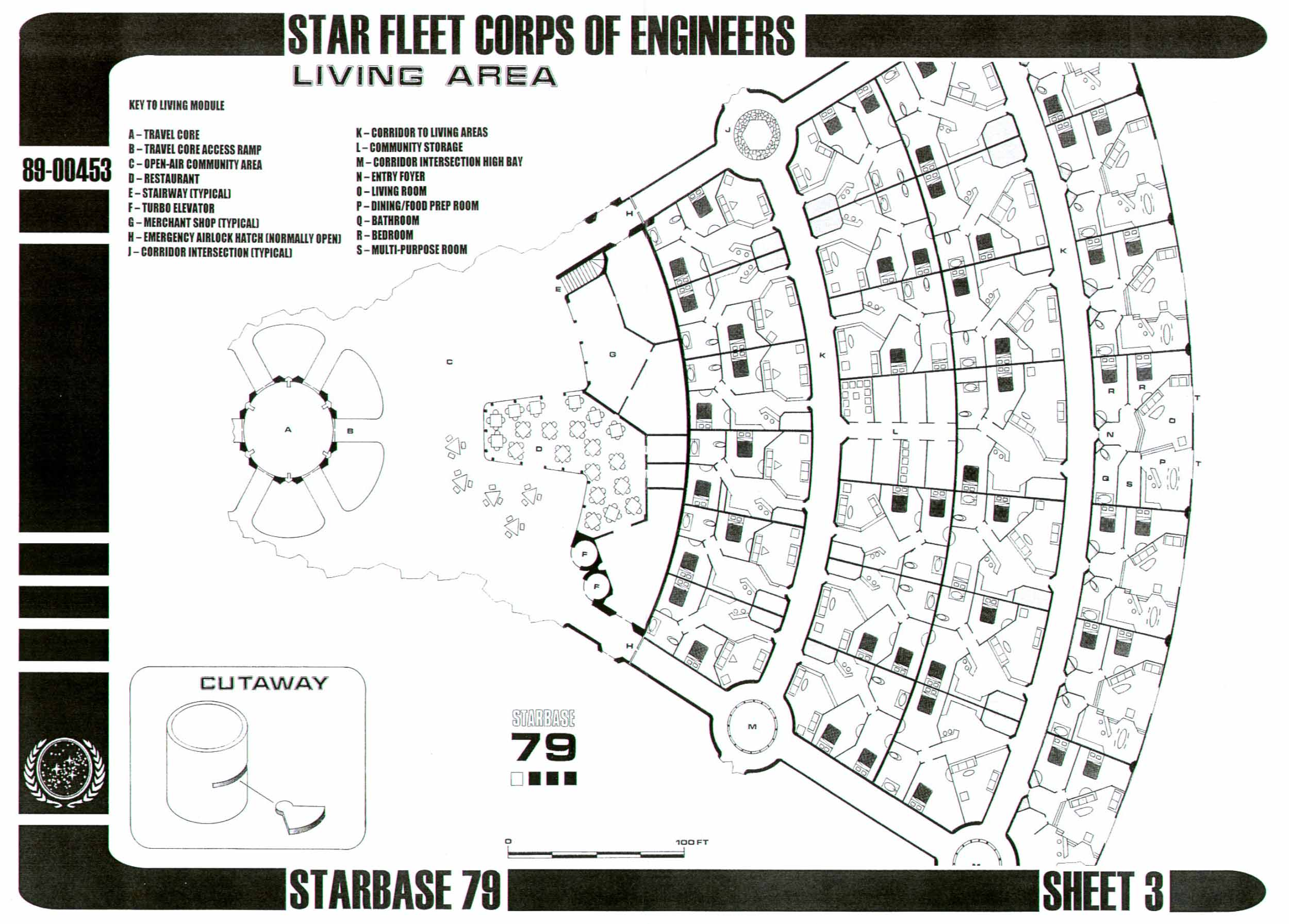 Star Trek Blueprints Starbase 79