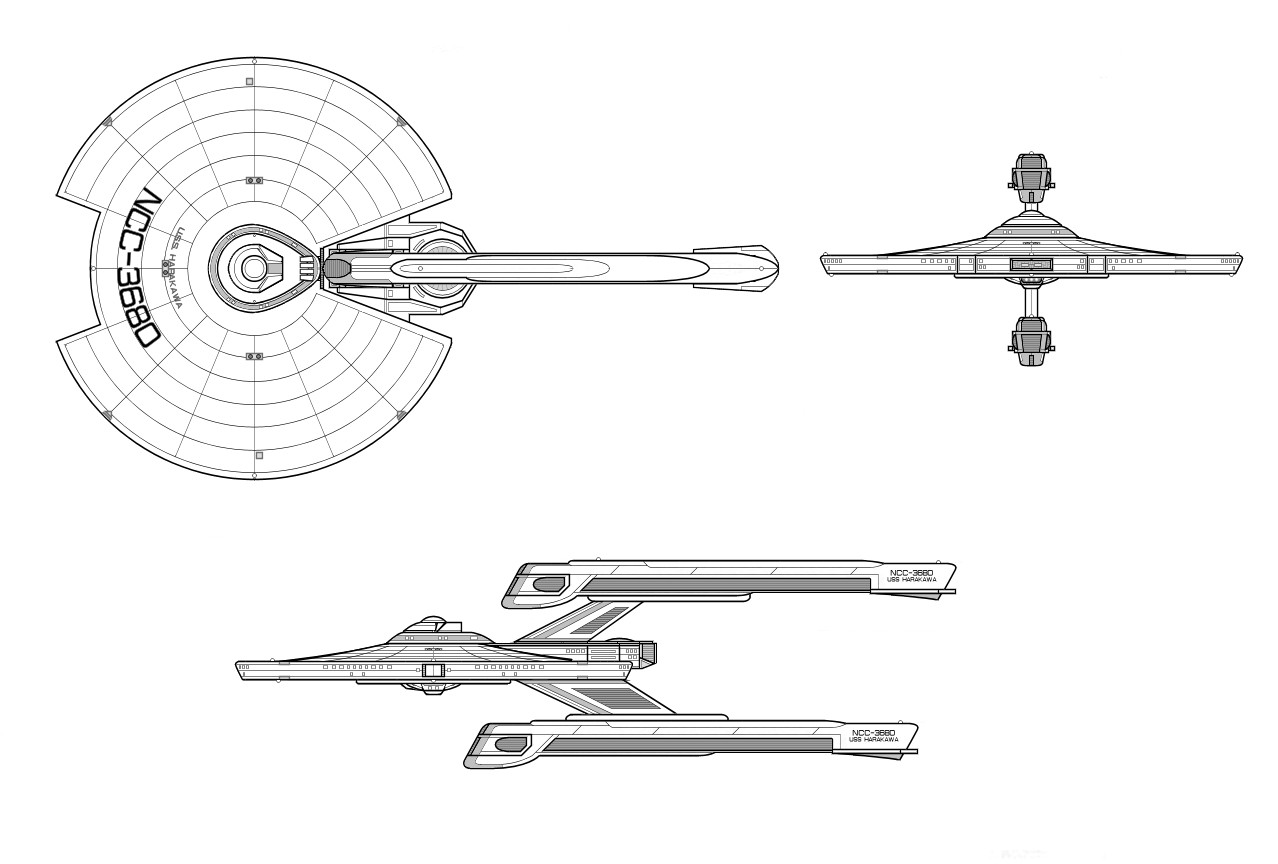 Star Trek Blueprint Database
