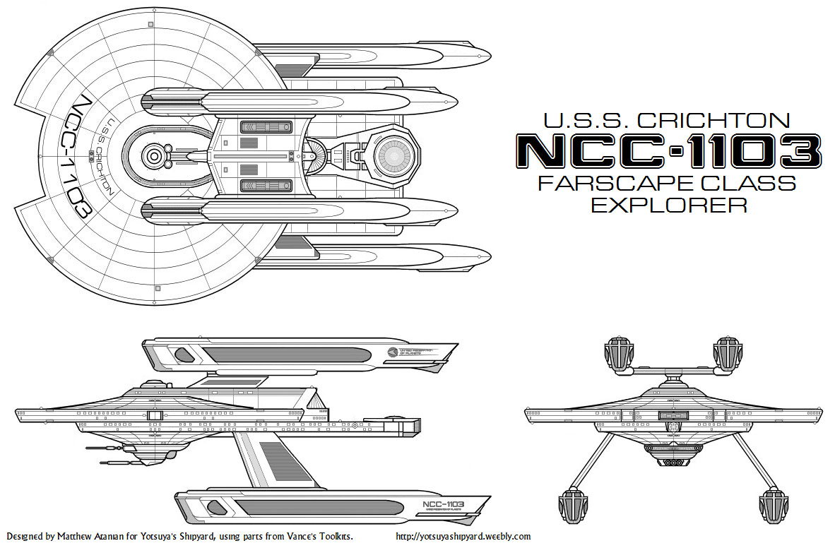 Star Trek Blueprints Yotsuya S Shipyard