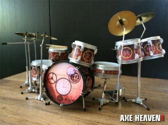 Miniature Replicas of Neil Peart s  Hockey Theme  and  Time Machine     Miniature Replicas of Neil Peart s  Hockey Theme  and  Time Machine Tour  Drum  Kits Now Available from Axe Heaven
