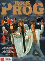 Rush in Classic Rock's PROG Magazine