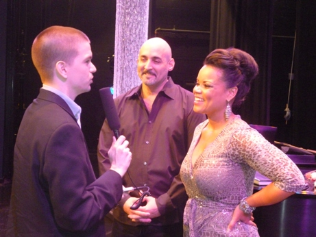 CYInterviewing Kimberley Locke and Musical Director Rick Leonard