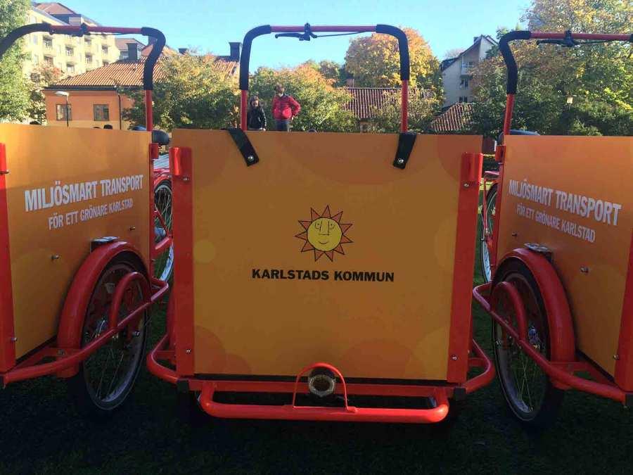 Bakfiets-klassisk-företag-Karlstad-Kommun