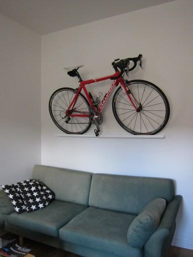 cykel väggen