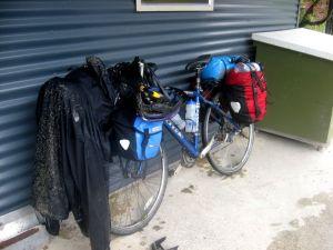 Smutsig cykel