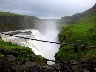 Gullfoss på Island