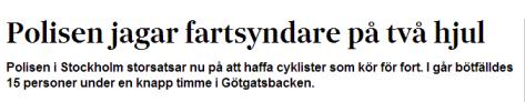 Fartsyndare SvD 14 augusti 2013
