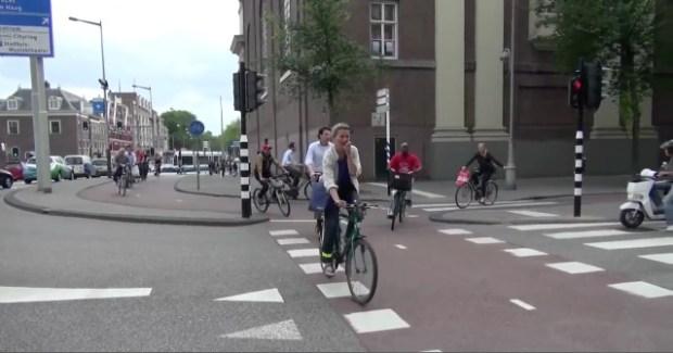 Cykling i Amsterdam