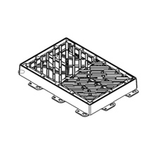 Reja imbornal Maremagnum 750x500 Fundición Dúctil D400 01