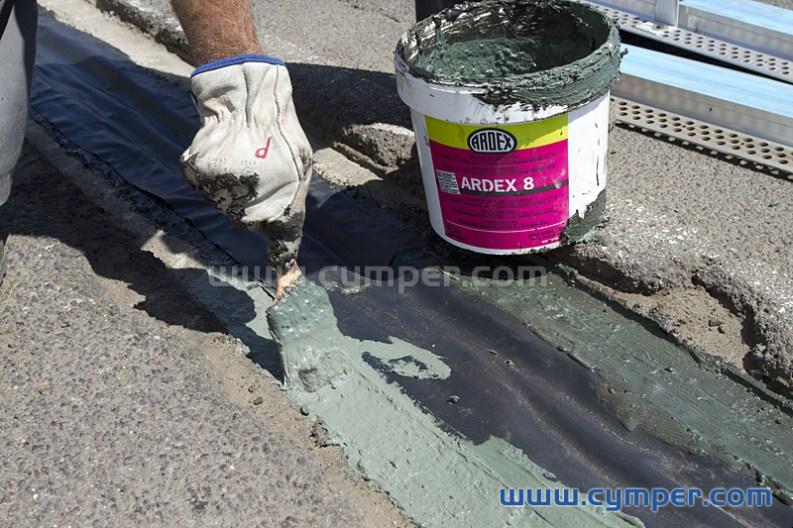 Reparación de junta de dilatación en pavimento asfáltico - 09