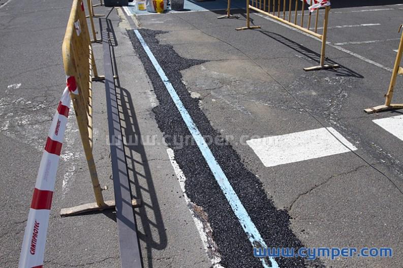 Reparación de junta de dilatación en pavimento asfáltico - 16