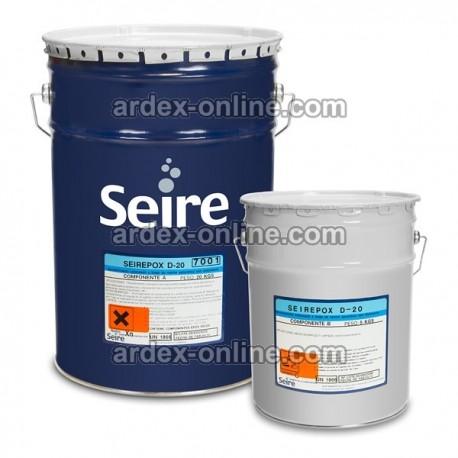 Seirepox D-20 Conjunto 25 kg Revestimiento coloreado de dos componentes formulado con resinas epoxídicas en disolvente.